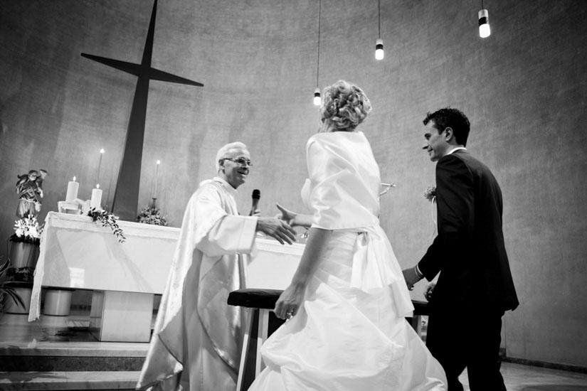 Fotografia di una cerimonia di matrimonio a Torino