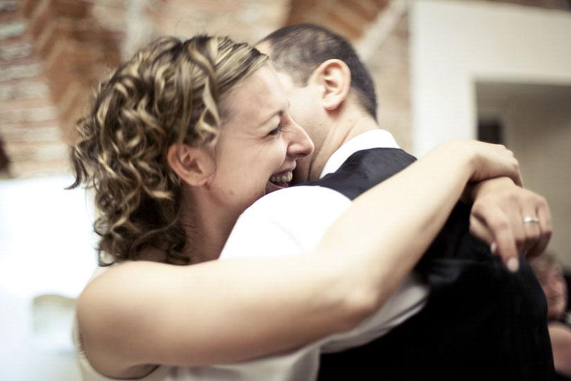 Fotografo matrimonio Torino: foto di matrimonio durante un ballo