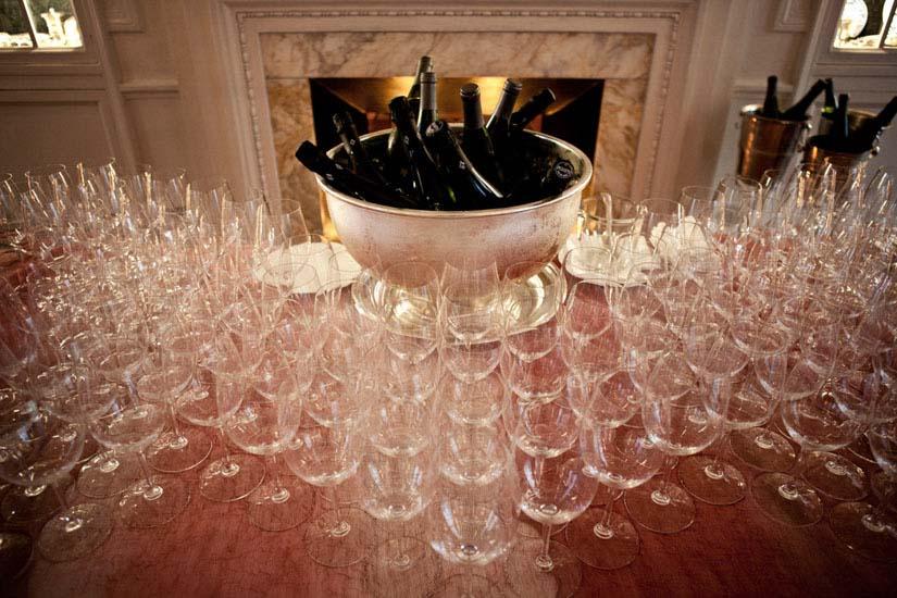Un magnifico allestimento per gli aperitivi all'Hotel Sitea di Torino