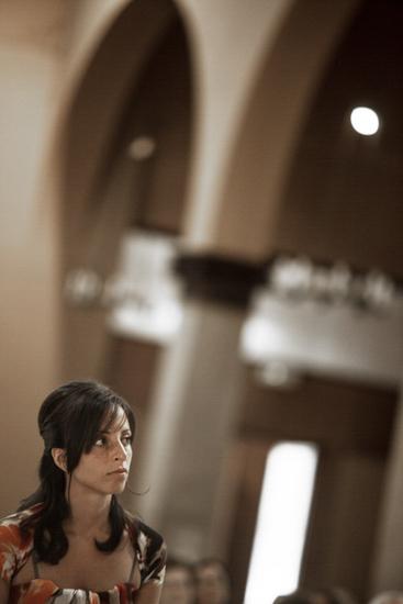 Fotografo matrimonio Torino: l'omelia del prete è ascoltata dall'amica dello sposo a Torino