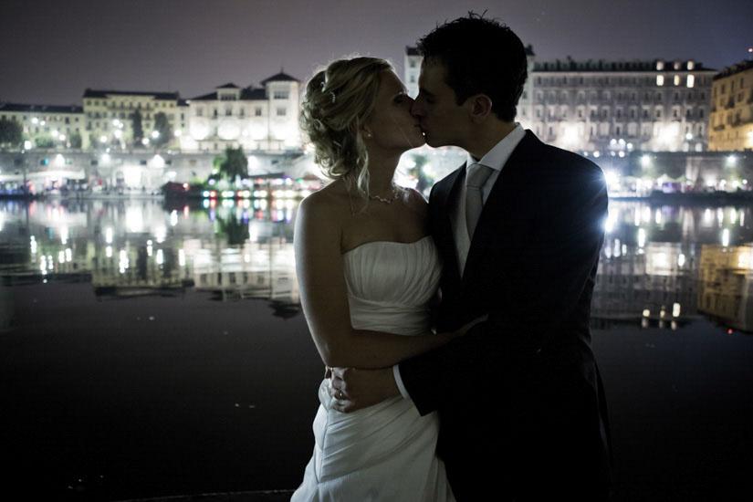 Foto di matrimonio romantiche a Torino