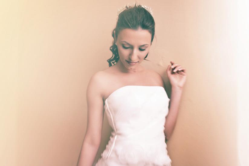 Una bella sposa si fa ritrarre - Fotografo di matrimonio a Torino