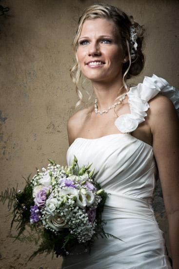 Un ritratto classico per una bellissima sposa