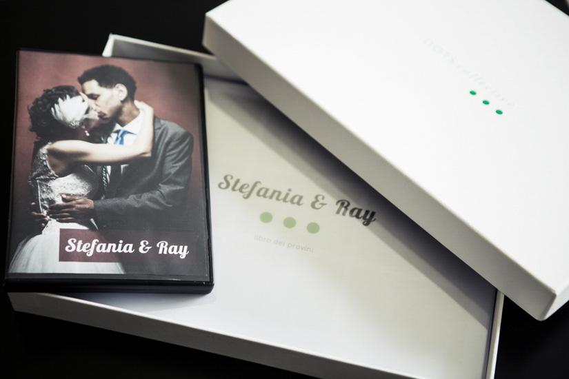 Fotografo matrimonio Torino: nella confezione DOTScollective troverete il DVD di matrimonio e provini