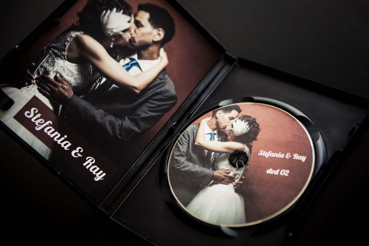 Fotografo matrimonio Torino: l'interno del DVD è pensato su misura per voi