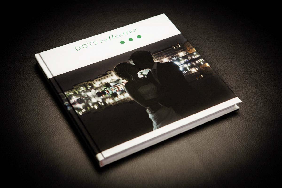 Fotografo matrimonio Torino: la copertina è completamente personalizzabile con fotografie o loghi