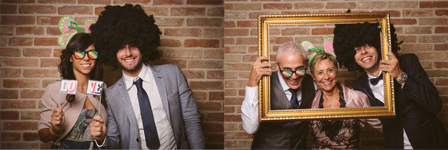 Fotografo matrimonio Torino: il photobooth divertente